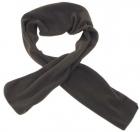 Fleece sjaal olijf