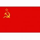 Russische vlag ( hamer en sikkel )